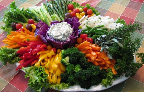Veggies and Dip: Vegetable Platter Ideas